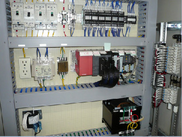 制御盤施工例